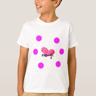 Uzbek Language of Love Design T-Shirt