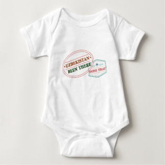 Uzbekistan Been There Done That Baby Bodysuit