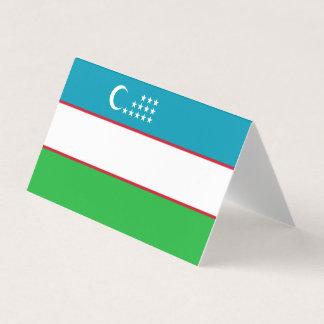 Uzbekistan Flag Card