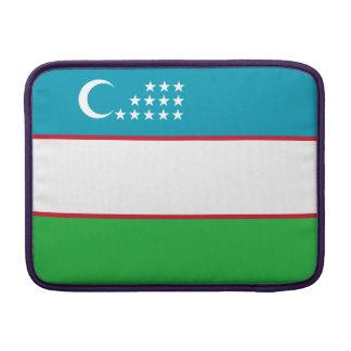 Uzbekistan Flag MacBook Sleeve