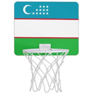 Uzbekistan Flag Mini Basketball Hoop