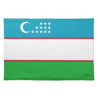 Uzbekistan Flag Placemat