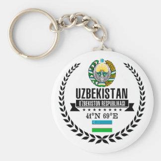 Uzbekistan Keychain