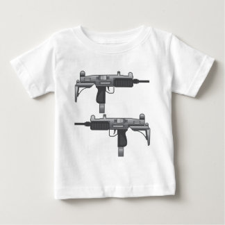 Uzi Gun vector Baby T-Shirt