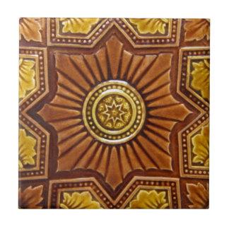 V0017 Victorian Antique Reproduction Ceramic Tile