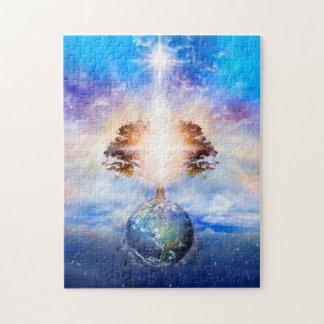 V004-Tree of Light Jigsaw Puzzle