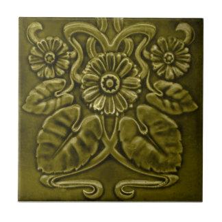 V0050 Victorian Antique Reproduction Ceramic Tile