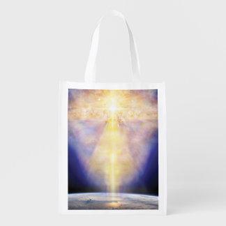 V006-Heaven & Earth Reusable Grocery Bag