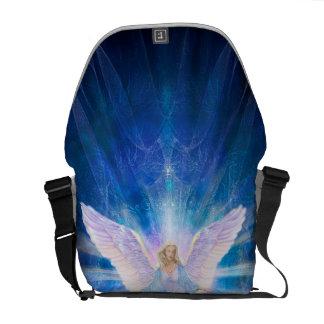V009-Angel 5 Blue Courier Bag