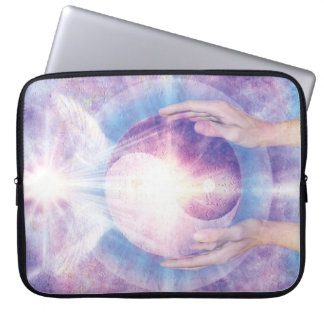 V012- Embracing Yin Yang Laptop Sleeve