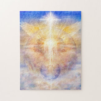 V013- Christ Tree of Light Jigsaw Puzzle