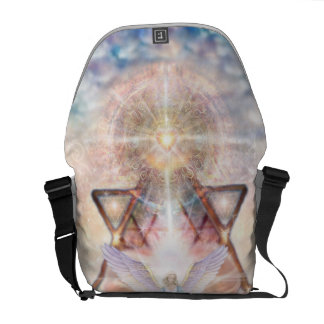 V015- Angel Heart Courier Bags
