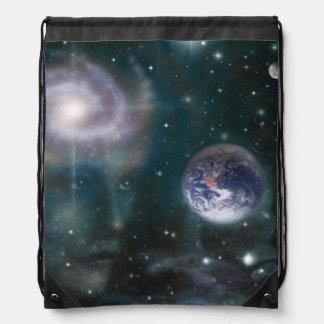V016- Star Goddess Drawstring Bag