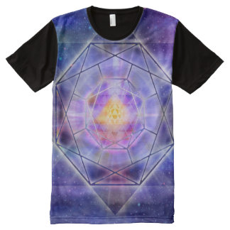 V020- Yantra Space All-Over-Print T-Shirt