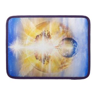 V026- Tree of Light Wings Sleeve For MacBooks