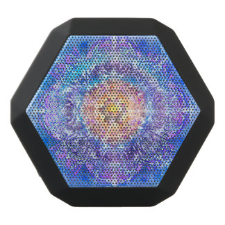 V027- Inner Lotus Black Bluetooth Speaker