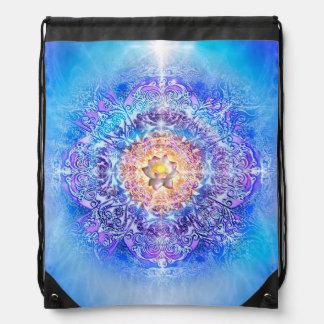 V027- Inner Lotus Drawstring Bag