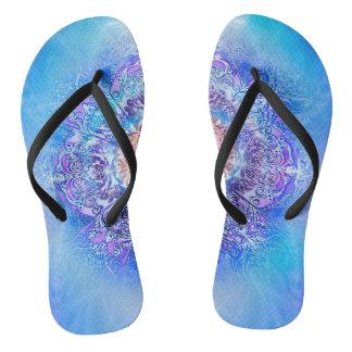 V027- Inner Lotus Flip Flops