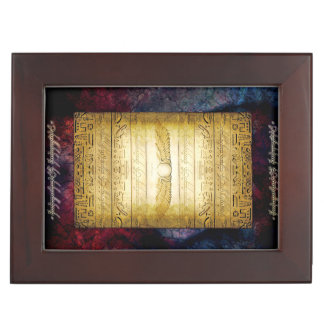 V042 Egyptian Tablet Memory Box