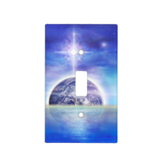 V043 Earth Water Air Light Switch Cover
