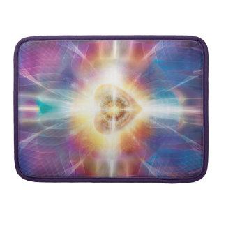 V047 Beautiful Heart Sleeve For MacBooks