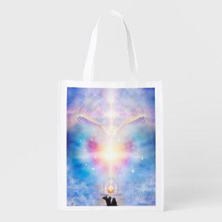V049 Adele Angel 2 Reusable Grocery Bag
