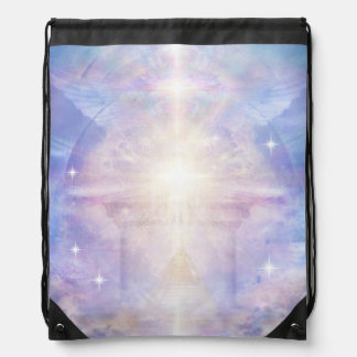 V052 Gateway to Godhead Drawstring Bag