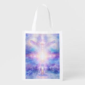 V053 Taste of Divinity Reusable Grocery Bag