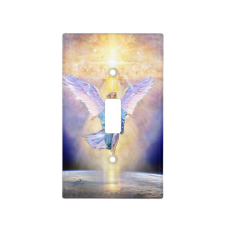 V056 Heaven & Earth Angel Light Switch Cover