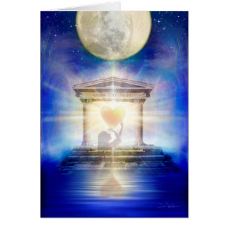 V058 Moon Temple Heart 2016 Card