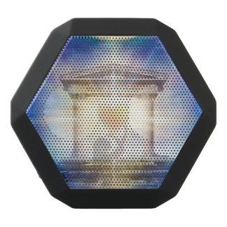 V058 Moon Temple Heart Black Bluetooth Speaker