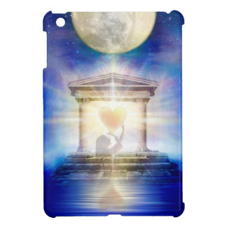 V058 Moon Temple Heart Cover For The iPad Mini