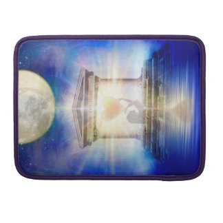 V058 Moon Temple Heart Sleeve For MacBooks