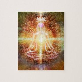 V059 Lotus Meditator Jigsaw Puzzle