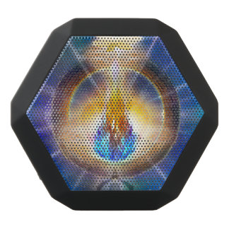 V061 Azul Flame Portal Black Bluetooth Speaker