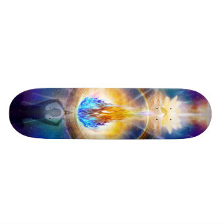 V061 Azul Flame Portal Skate Board