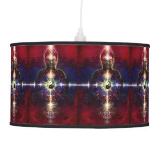 V064 BaGua Buddha Dragon Ceiling Lamps