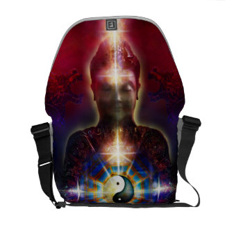 V064 BaGua Buddha Dragon Courier Bags