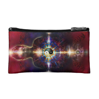 V064 BaGua Buddha Dragon Makeup Bags