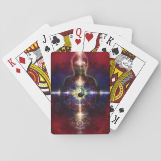 V064 BaGua Buddha Dragon Playing Cards