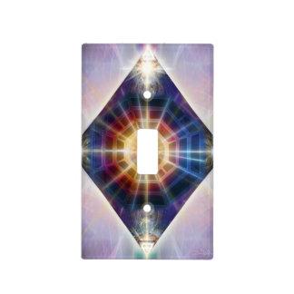 V065 Diamond BaGua Light Switch Cover