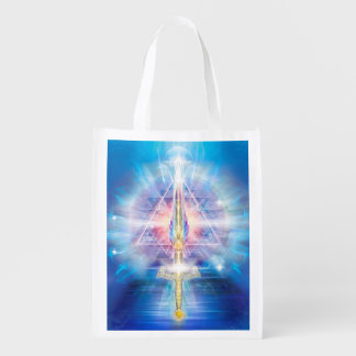 V070 Sword of Truth 2 2016 Reusable Grocery Bag
