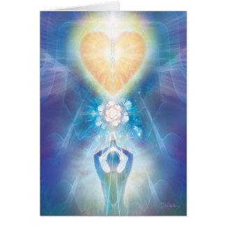 V071 Heart Flower Card