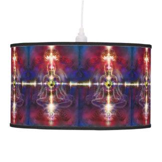 V074 Awake Buddha Dragons Ceiling Lamp