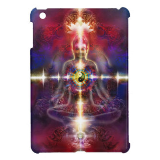 V074 Awake Buddha Dragons iPad Mini Cover