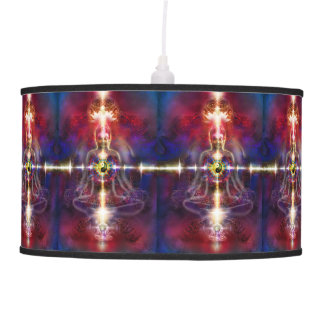 V074 Awake Buddha Dragons Pendant Lamp