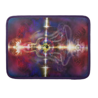 V074 Awake Buddha Dragons Sleeve For MacBooks