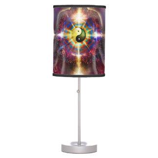 V074 Awake Buddha Dragons Table Lamp