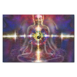 V074 Awake Buddha Dragons Tissue Paper