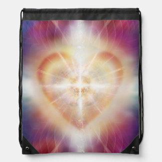 V076 Light in Shadow 45 Drawstring Bag